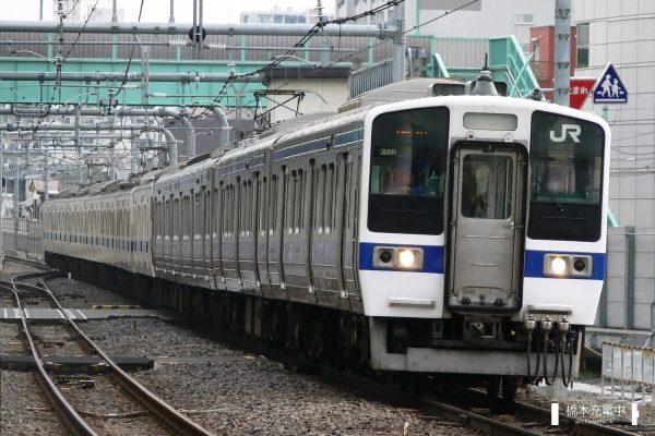 415系電車 K532編成(勝田車両センター)