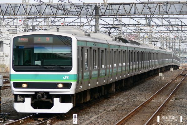 E231系電車 103編成(松戸車両センター)