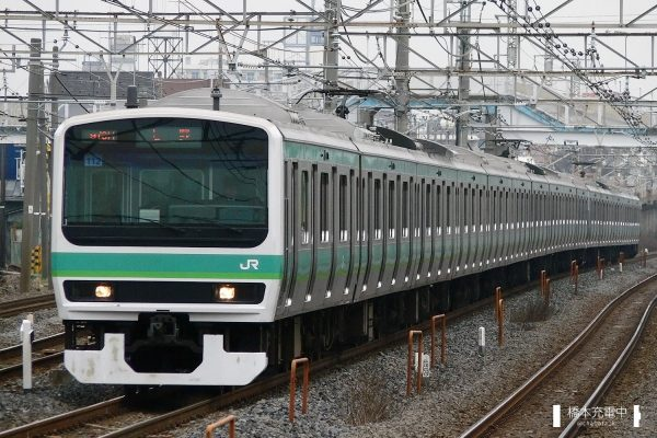 E231系電車 112編成(松戸車両センター)