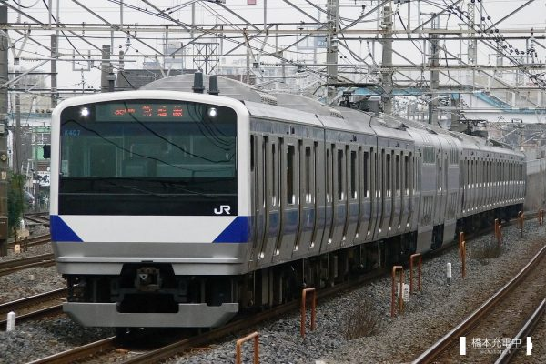 E531系電車 K407編成(勝田車両センター)