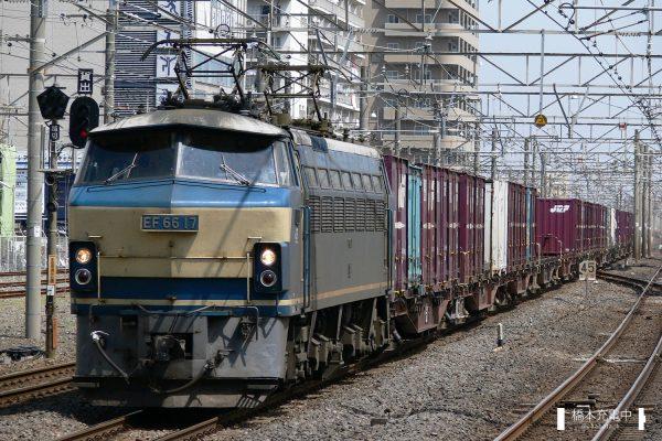EF66形電気機関車 EF66 17