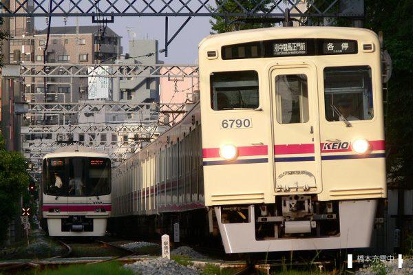京王6000系 6740F/2007-05-27 府中競馬正門前-東府中