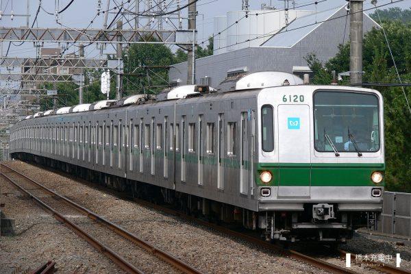 東京メトロ6000系 6120F