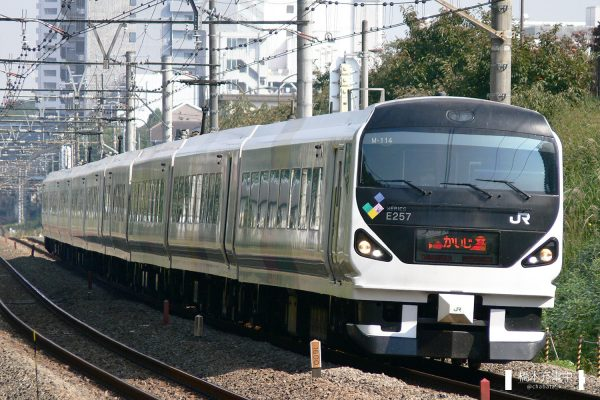 E257系電車 M-114編成(松本車両センター)