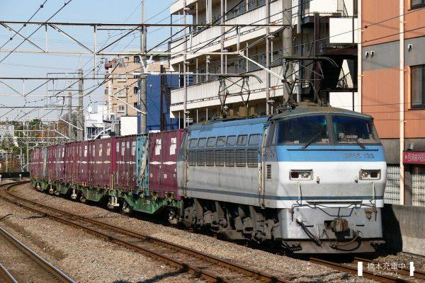EF66形電気機関車 EF66 122