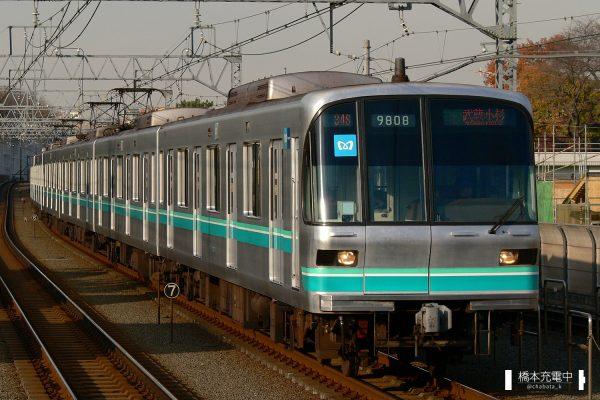 東京メトロ9000系 9108F/2007-12-10 多摩川