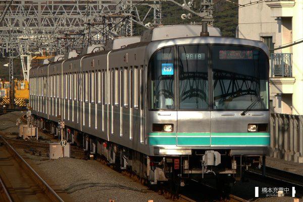 東京メトロ9000系 9118F/2007-12-10 新丸子