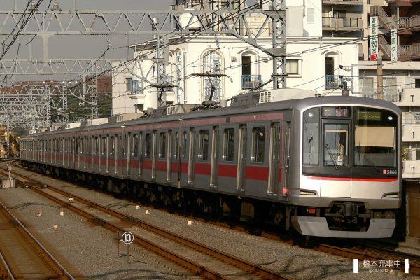 東急5050系 5166F 2007-12-10 新丸子