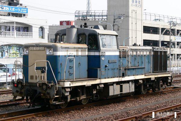 DE10形ディーゼル機関車 DE10 1664(青色更新色)