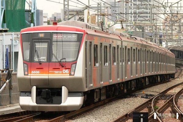 東急6000系 6106F
