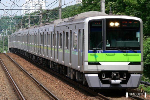 東京都交通局10-300R形 10-320F/2008-07-11 南大沢 橋本方10-329