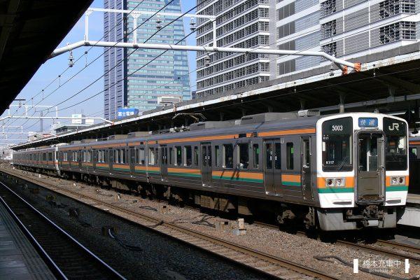 211系電車 K117編成(神領車両区)