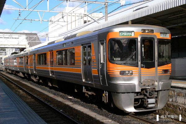 313系電車 B202編成(神領車両区)