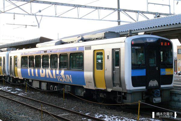 キハE200形気動車 キハE200-2