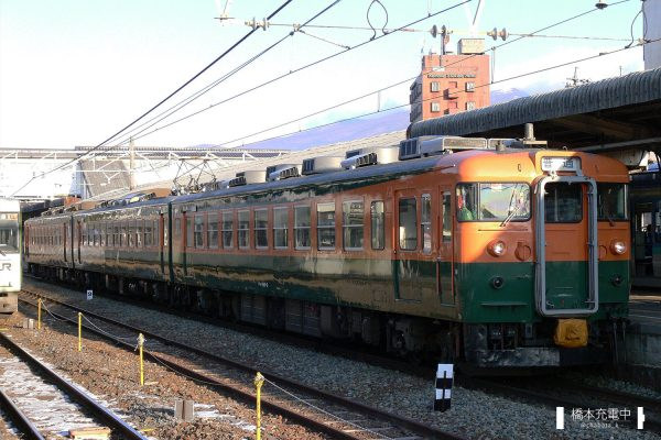 しなの鉄道169系 S52編成