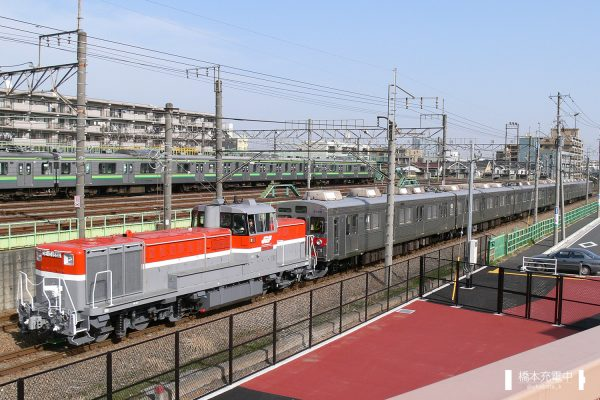 DE10形ディーゼル機関車 DE10 1664(JR貨物更新色)