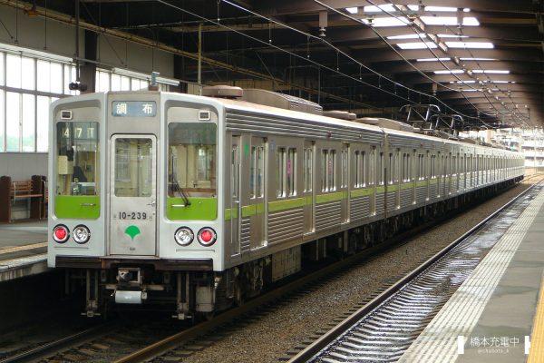 東京都交通局10-000形 10-230F/2009-06-06 京王堀之内