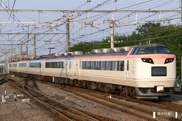485系電車 N201編成「彩」(長野総合車両センター)
