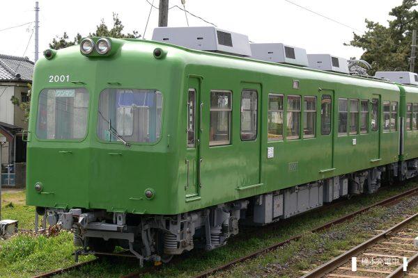 銚子電鉄2000形 デハ2001