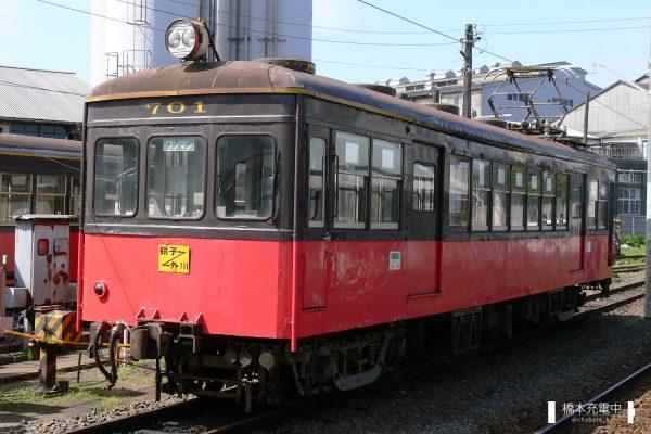 銚子電鉄デハ700形 701