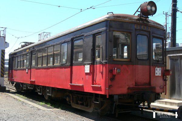 銚子電鉄デハ800形 801