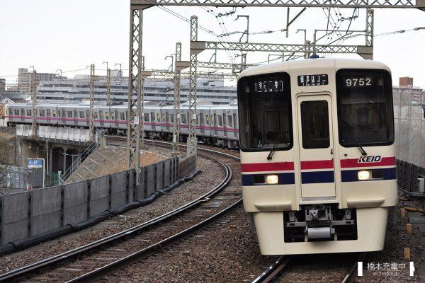 京王9000系 9702F 2012-03-12