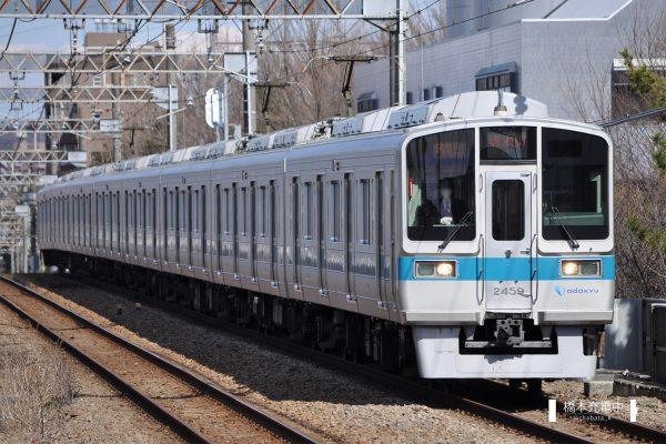 小田急2000形 2059×8編成 2012-03-12
