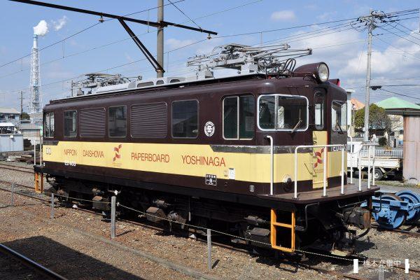 岳南鉄道ED40形 ED403/2012-03-14 岳南富士岡