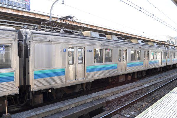 伊豆急行8000系 TA-5編成 8205 2012-03-14