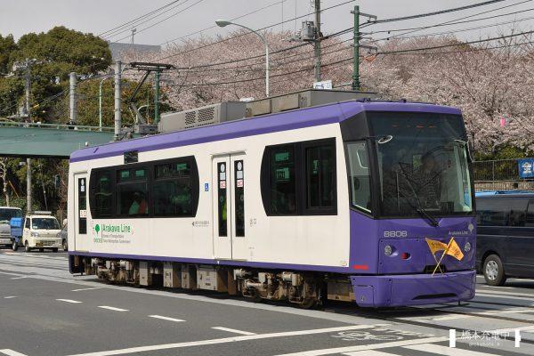 東京都交通局8800形 8806