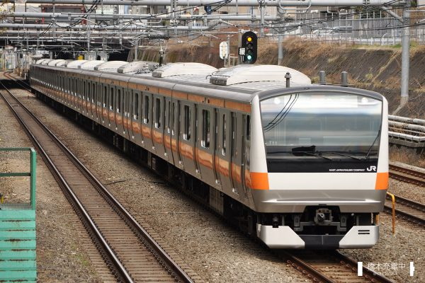E233系電車 T11編成(豊田車両センター)