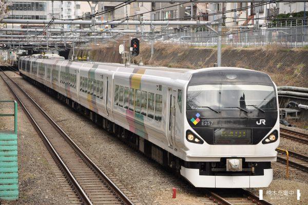 E257系電車 M-112編成(松本車両センター)