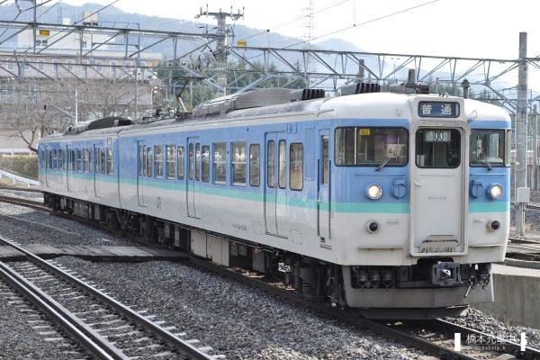 115系電車 N52編成(長野総合車両センター)