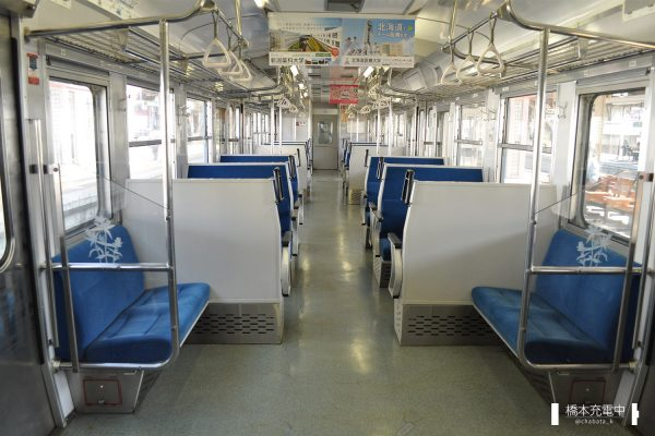 115系電車 N52編成(長野総合車両センター)車内