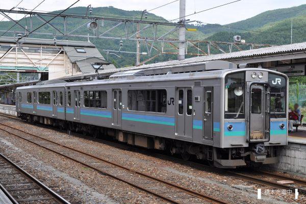 E127系電車 A1編成(松本車両センター)2012-09-08 信濃大町