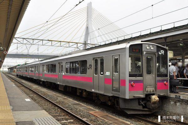 701系電車 N101編成(秋田車両センター)