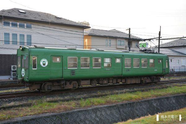 熊本電鉄5000形 5101A/2016-01-31 北熊本-坪井川公園