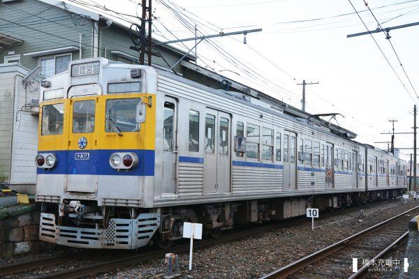 熊本電鉄6000形 6131A+6138A/2016-01-31 北熊本