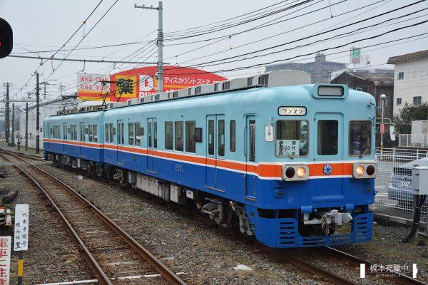熊本電鉄200形 201A+202A/2016-02-01 北熊本 202A側