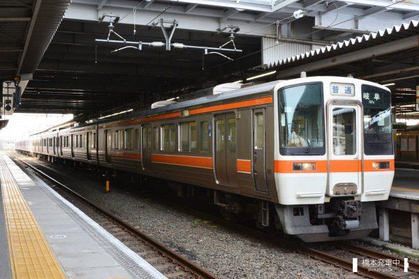 311系電車 G13編成(大垣車両区)/2017-07-01 豊橋