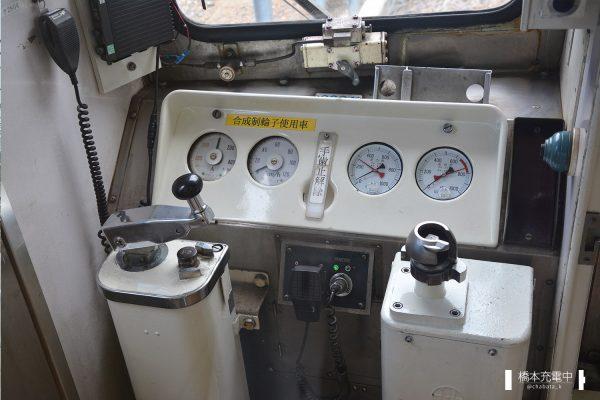 豊橋鉄道1800系 1804F/2007-07-01 新豊橋 運転台