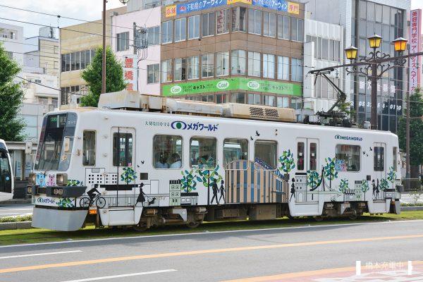 名鉄モ780形電車 787/2017-07-01 駅前-駅前大通