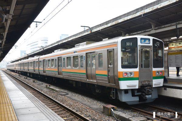 211系電車 K109編成(神領車両区)2017-07-03 名古屋