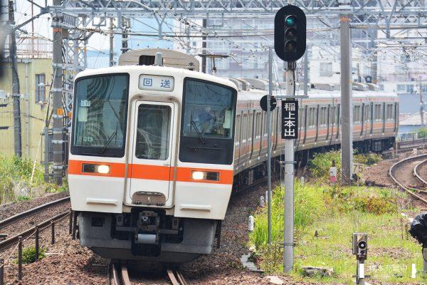 311系電車 G13編成(大垣車両区)/2017-07-13 枇杷島