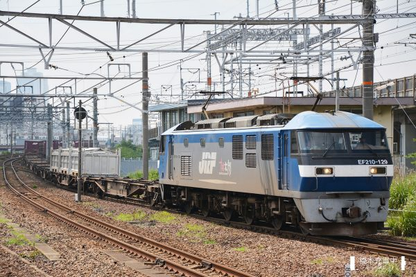 EF210形電気機関車 EF210-129/2017-07-03 枇杷島