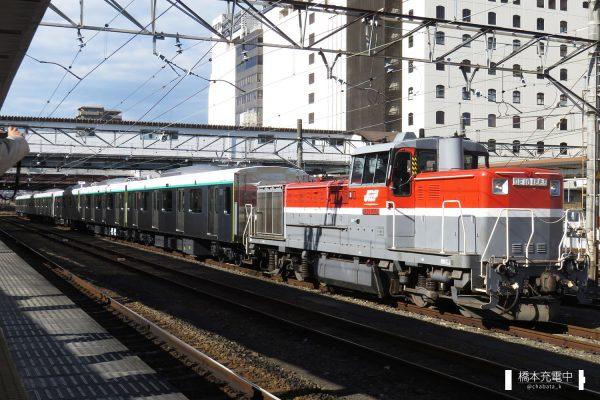 DE10形ディーゼル機関車 DE10 1666/2017-11-29 八王子 東急2020系甲種輸送