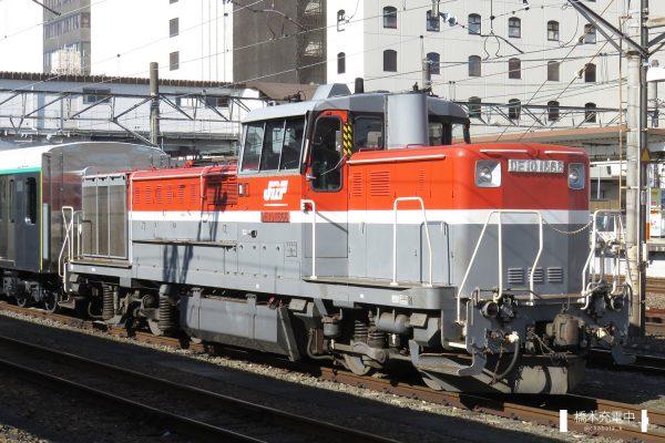 DE10形ディーゼル機関車 DE10 1666/2017-11-29 八王子