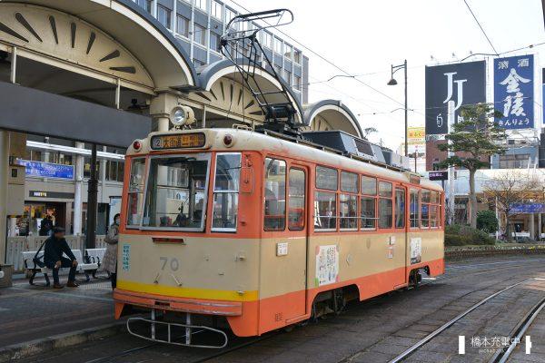伊予鉄道モハ50形 70 2018-01-20 松山市