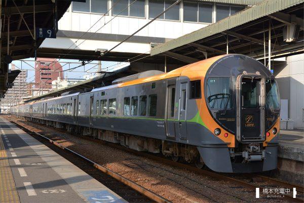 8600系電車 E1編成 手前3両がE1編成 2018-01-20 松山