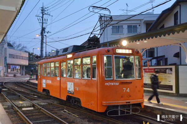 伊予鉄道モハ50形 74